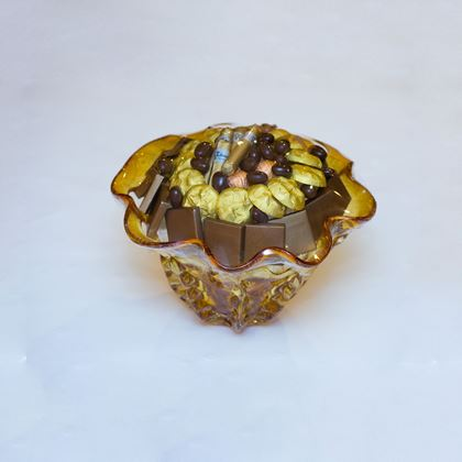 Picture of Champagne Glass Chocolate Bowl